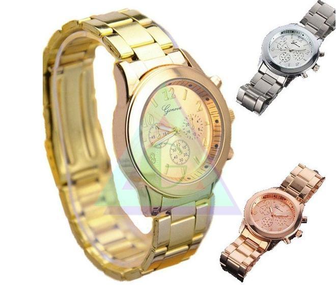 4a48ffe2d Dámske hodinky GENEVA - Silver - Šperky a dekorácie