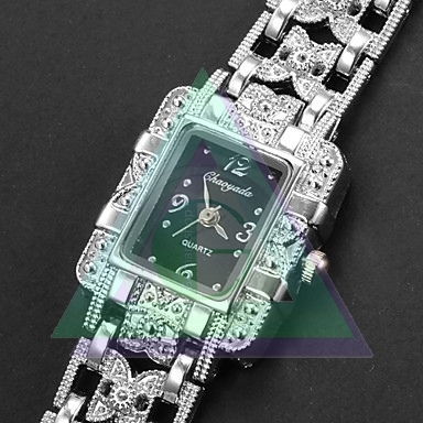 Chaoyada dámske hodinky farba strieborná - Šperky a dekorácie 427f2b28884