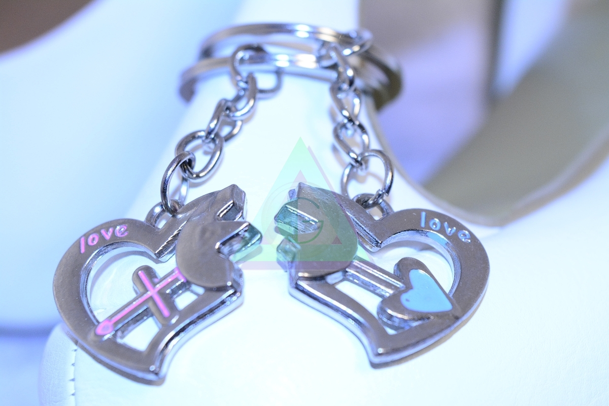 Prívesok na kľúče pre zaľúbených - Šperky a dekorácie 00863709f5a